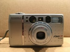 Samsung Fino 120 Super 35mm Point & Shoot Film Camera 38-120mm Zoom W/ Strap