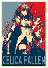 "Poster Fire Emblem ""Propaganda"" Fallen Celica - Formato A3 (42x30 cm)"