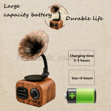Portable Retro Mini Radio with FM, bluetooth, USB, Hands-free Call, MP3