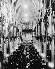 St. Patrick's Cathedral Christmas Day service 1911 New York - New 8x10 Photo