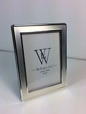New in Box  Silver Plated Photo Frame 3.5 x 5 Tarnish Resistant - Qty 1