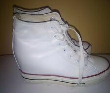 Sneaker Converse all Star Scarpe Platform Pelle Zeppa Interna n38 Estate Estive