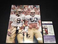 TONY RICE NOTRE DAME FIGHTING IRISH SIGNED 8X10 PHOTO JSA V45576 88'CHAMPS!