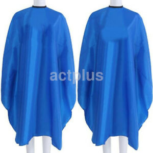Hair Cutting Cape Pro Salon Hairdressing Hairdresser Gown Barber Cloth 4Color US