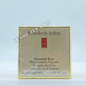 Elizabeth Arden Ceramide Eyes Time Complex Capsules 60 Count (SEALED)