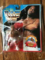 VIRGIL official Wrestling Figure Hasbro WWE 1993 Blue US card Unopened WWF NEW