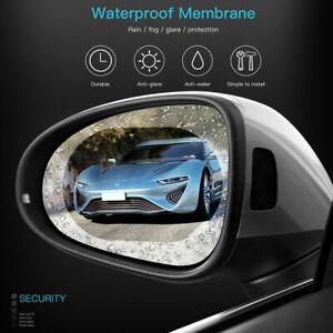 Car Rearview Rainproof Mirror Film Sticker Anti fog glare Waterproof Membrane