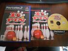 PS2 Playstation 2 Game * 10 Pin Champions Alley * Complete PS2