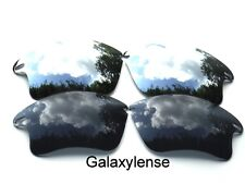 Galaxy Replacement Lenses For Oakley Fast Jacket XL Black&Titanium Polarized 2PS