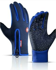 HKXY Blue Neoprene Gloves Water sports Kayaking, Fishing, Wetsuit, Cycling