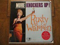 Rusty Warren – More Knockers Up! - 1965 - Jubilee JGM 2059 Vinyl LP VG/VG+!!!