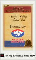 2003 Select AFL Hall Of Fame S2 Trading Card HF138 Footscray HOF Logo Card