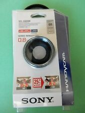 genuine Sony VCL-HGE08B 30mm/37mm Wide-End Conversion Lens VCLHGE08B
