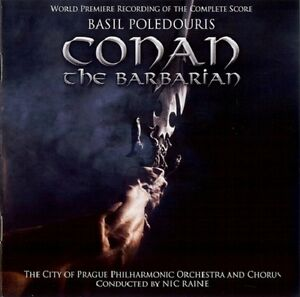 Conan The Barbarian - 2 x CD Complete Score - Limited Edition - Basil Poledouris