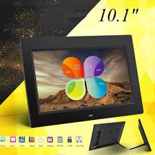 10 inch Black HD LED Digital Photo Picture Frame Album USB MP4/Music/Video/Movie