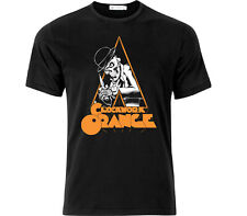 Clockwork Orange Cult Movie Fan Art T Shirt Black