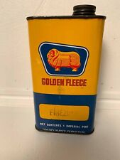 Golden Fleece Firezone vintage tin