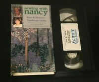 Trees Flowers Landscape Quilts Sewing with Nancy VHS learn to sew how to video