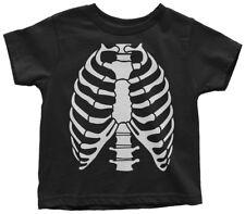 Skeleton Rib Cage Halloween Costume Toddler T-Shirt