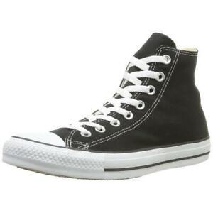 Converse Mens All Star Black Fashion Sneakers Shoes 6 Medium (D) BHFO 0419