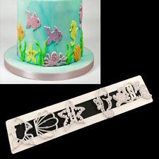 Sugarcraft Ocean Fondant Cutter Cake Mold Cake Decorating Tool Kitchen Cake Tool