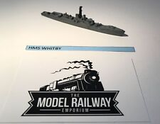 VINTAGE TRIANG MINIC SHIPS - M791 - HMS WHITBY - RARE UNBOXED DIECAST