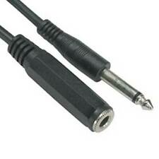 """SF Cable 1/4"""" Mono Male to Female Extension Cable,  10 feet"""