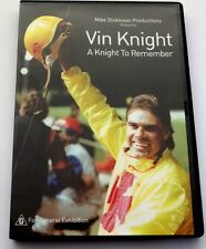 Vin A Knight to Remember - Vin Knight Australian Harness Racing Icon - Brand New