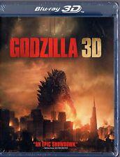 Godzilla (Blu-ray, 2014,  3D  plus 2D)