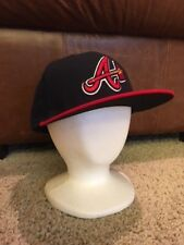 New Era 5950 Atlanta Braves Authentic Collection AC Cap - Size 6 7/8 - Pre-owned