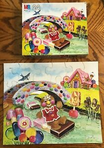 MILTON BRADLEY Vintage 1982 Candy Land 24 Piece Child's Jigsaw Puzzle COMPLETE