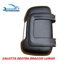 CALOTTA NERA FIAT DUCATO SPECCHIETTO BRACCIO LUNGO DESTRO DAL 2006 >