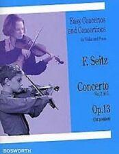 Easy Concertos and Concertinos für Violin and Piano F. Seitz Op.13