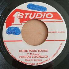 Freddie McGregor  Home Ward Bound  1979 JA 7in