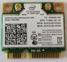 Intel Dual Band Wireless 7260AC 7260HMW 867Mbps Bluetooth 4.0 mini PCIe WLAN