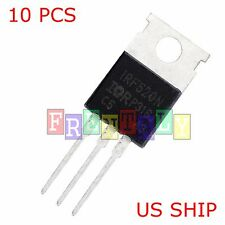 10 Pcs IRF520 IRF520N TO-220 N-Channel IR Power MOSFET US SHIP