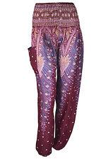 New Thai Hippie Boho Harem Baggy Genie Trousers Ali Yoga Beach Elephant Pants UK