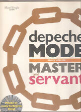 Depeche MODE Master and Servant Slavery Whip Mix 12 INCH COLOR VINYL 1984 mute