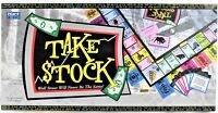Take Stock Board Game Wall Street Financial Investing