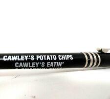 """Vintage Advertising Ballpoint Pen - Cawley""""s Potato Chips - Barrell O Fun BZZ011"""