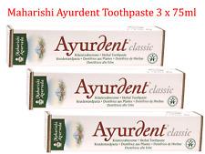 3 x 75ml MAHARISHI AYURVEDA Ayurdent Toothpaste