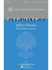 Arr Jeffrey Douma Red River Valley Learn Play Voice Vocals SATB SHEET MUSIC BOOK