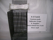 E-Z Catch Custom Hand Made Chum Pot Weighted PVC Coated Lead Free with 48' Rope