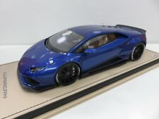 MR model 1/18 #LAMBO024D Lamborghini Huracan LB Performance After Market Blue