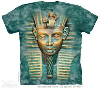 Big Face King Tut T-Shirt The Mountain. S-3XL NEW Giant Head Mummy Spiritual Tee