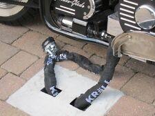 MOTORCYCLE MOTORBIKE YAMAHA - BUELL - SECURITY GROUND ANCHOR Yanchor (original)