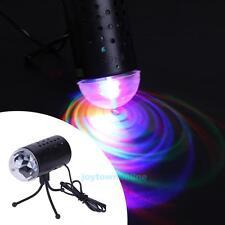 3W RGB Crystal Magic Ball Laser Stage Lighting Light For Party Disco DJ Bar Bulb