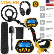 Pro Ground Waterproof Metal Detector Gold Finder Lcd Display Shovel Search Coil!