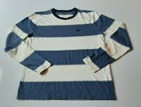 Mens Hollister Striped Long Sleeve T Shirt Size Small