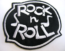 Aufnäher ROCK n ROLL Patch Musik Rockabilly